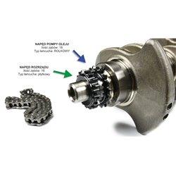 Zestaw rozrządu VW 1.4 1.6 TSI 18/18R + regulator faz